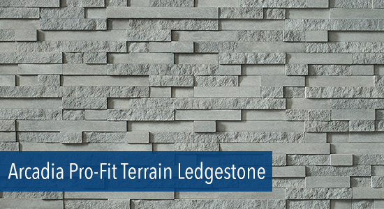 Arcadia Pro-Fit Terrain Ledgestone