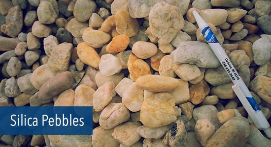 Silica Pebbles Stone