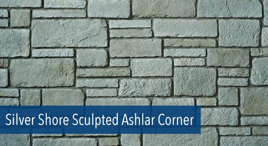 Silver Shore Sculpted Ashlar Corner