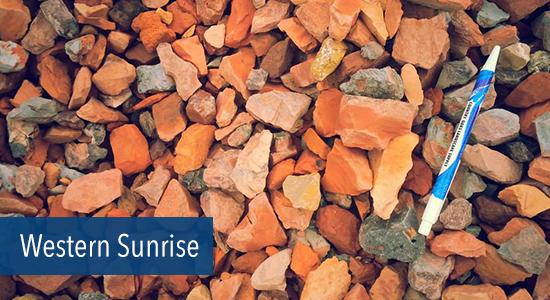 Western Sunrise Stone