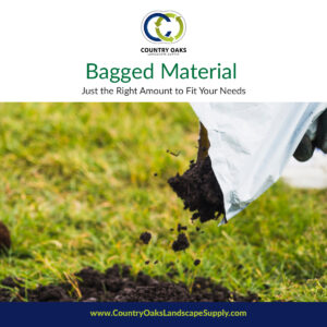 Bagged material is available to purchase